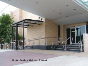Civic Centre entry
