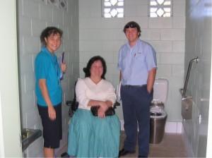 Toilet gathering